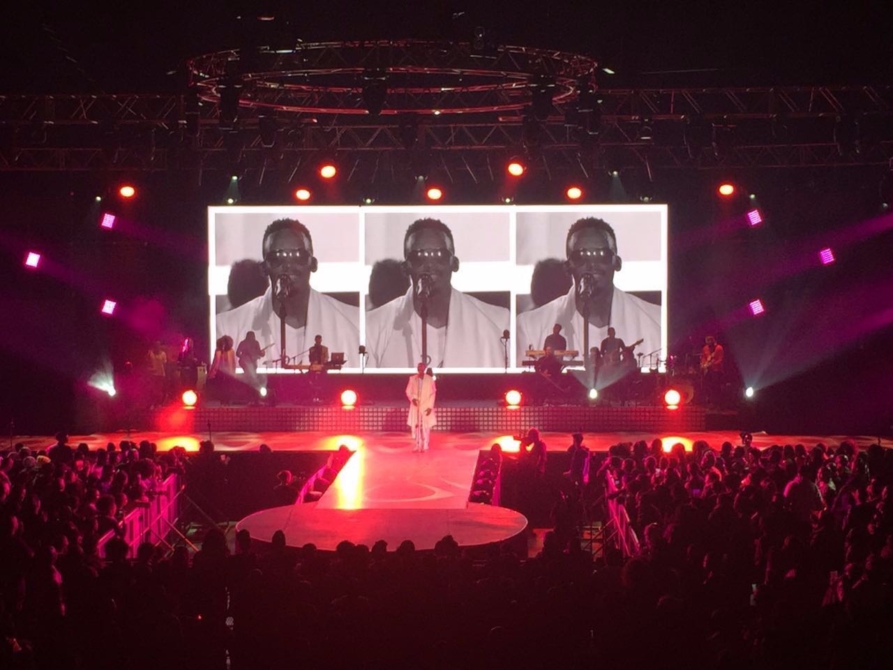 UpadIII6 44sqm South Africa live concert,Johannesburg, South Africa,2016